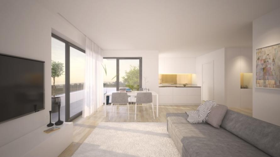 Perpektive Innenraum-Penthouse