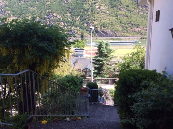 Ausblick von Hauseingang