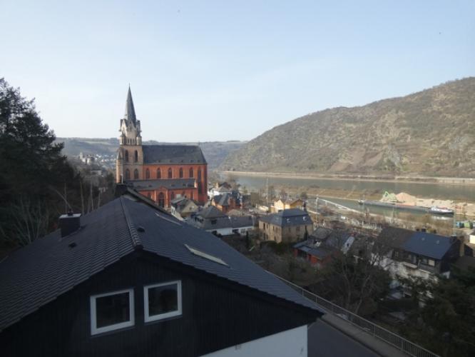 Ausblick linksseitig zur Liebfrauenkirche