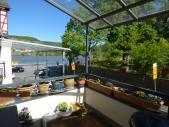Terrasse mit Moselblick